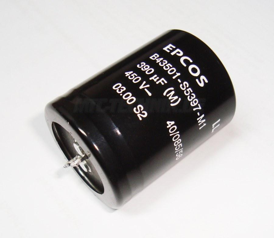 1 Epcos Kondensator B43501-s5397-m1 Bestellen