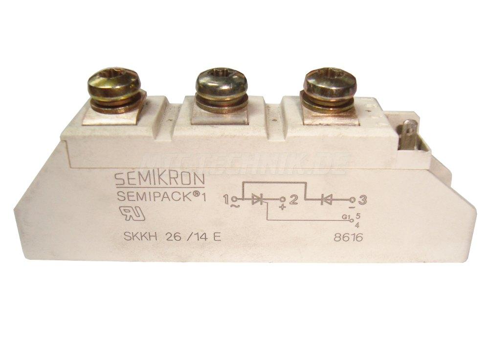 1 Bestellen Online Skkh26-14e Semikron Thyristor