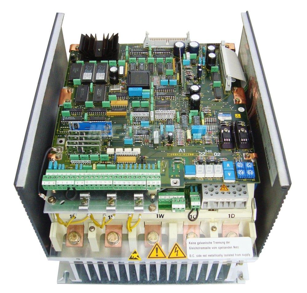 3 Dc Drive With Warranty 6ra2228-6ds22-0 Siemens