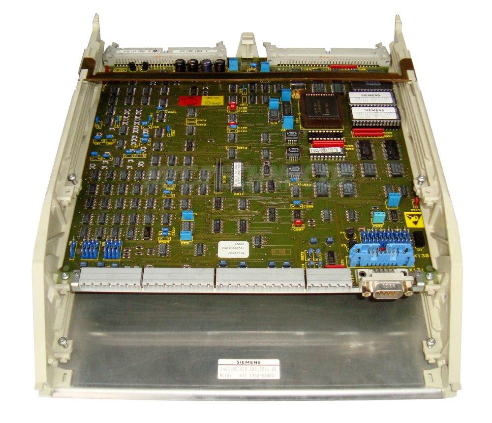 1 Siemens Simovert 6se1200-1ga31-2 Steuerkarte