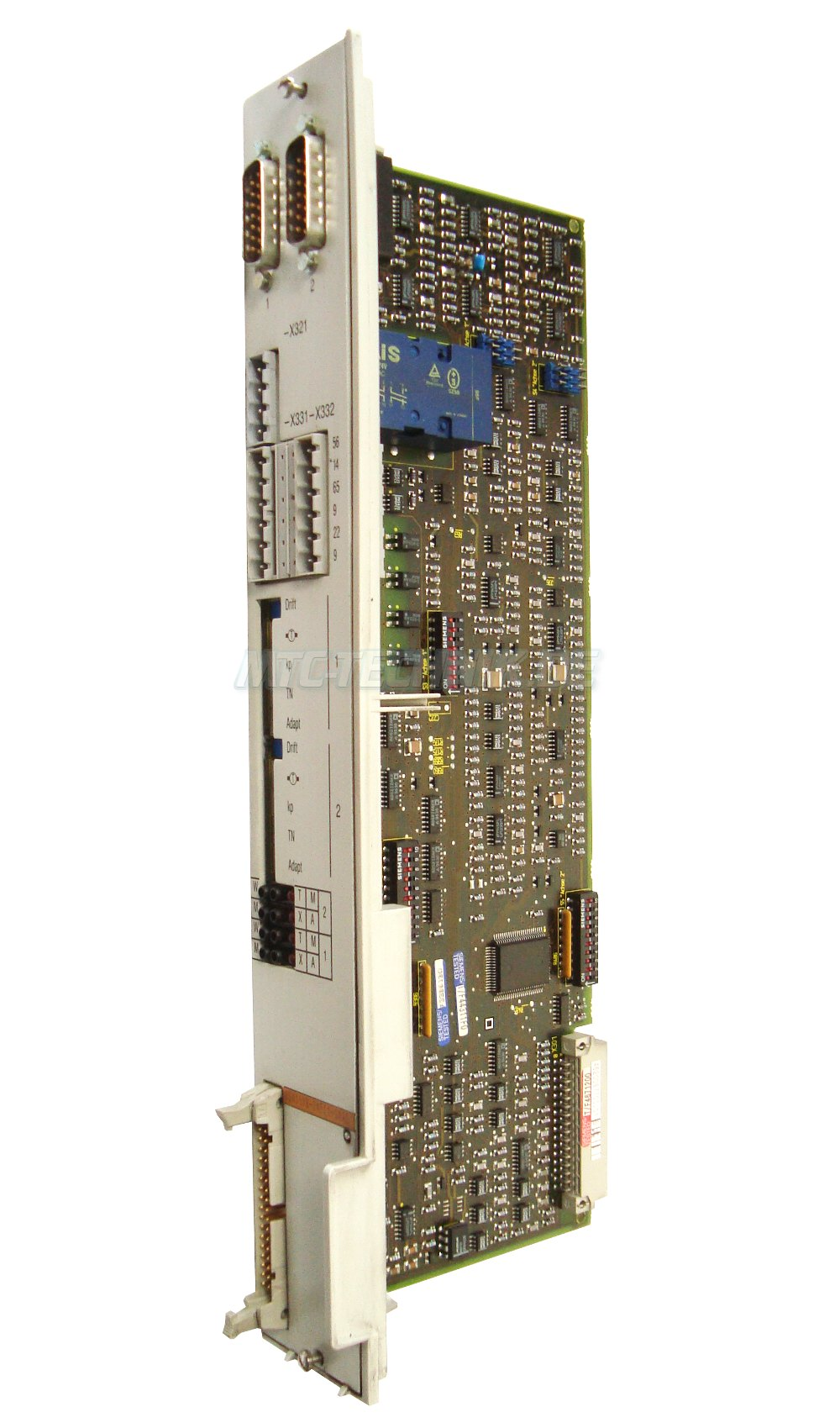 1 Siemens Simodrive 6sn1118-0ae11-0aa0 Einschubkarte