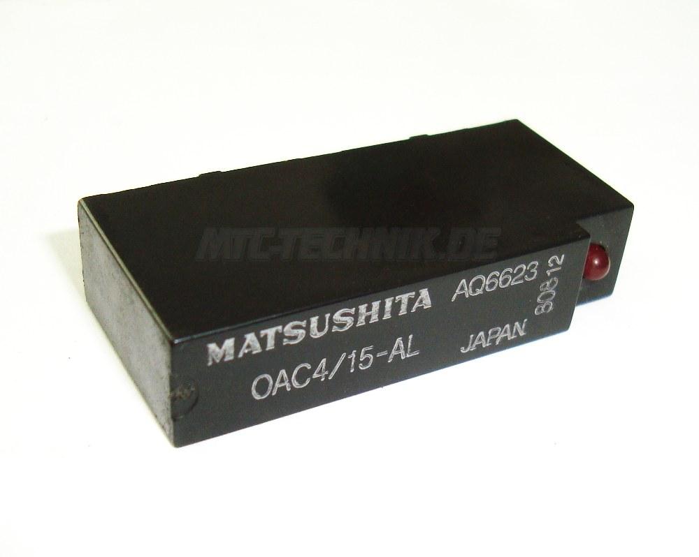 1 Matsushita Relay 0ac4-15-al