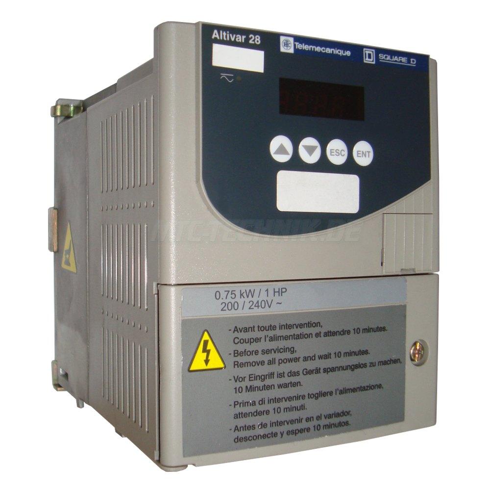 1 Frequenzumrichter Atv28hu18m2 Online Shop Telemecanique