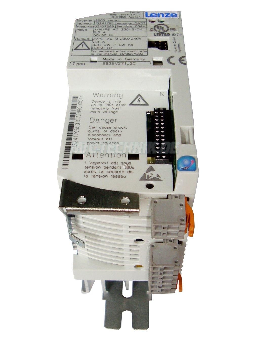 2 Austausch E82ev371 2c Lenze Mit Garantie