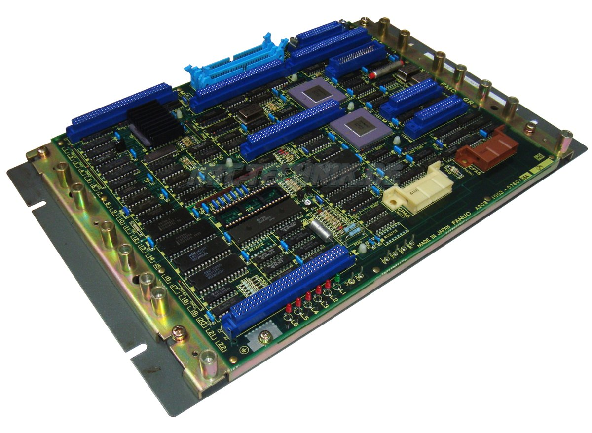 2 Cpu Board A20b-1003-0760-05a Fanuc Shop
