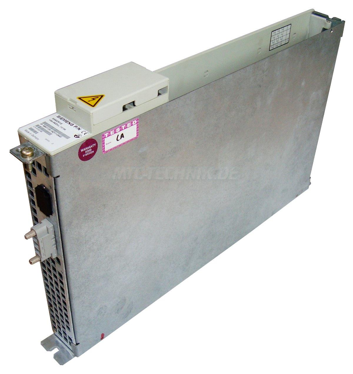 2 Vsa Module 6sn1130-1ad11-0aa0 Bestellen Siemens Garantie