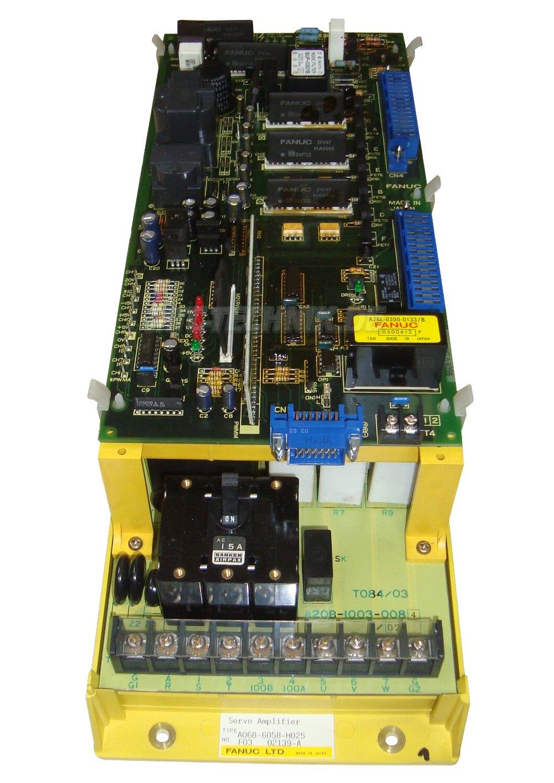 2 Austausch Fanuc A06b-6058-h025 Frequenzumrichter