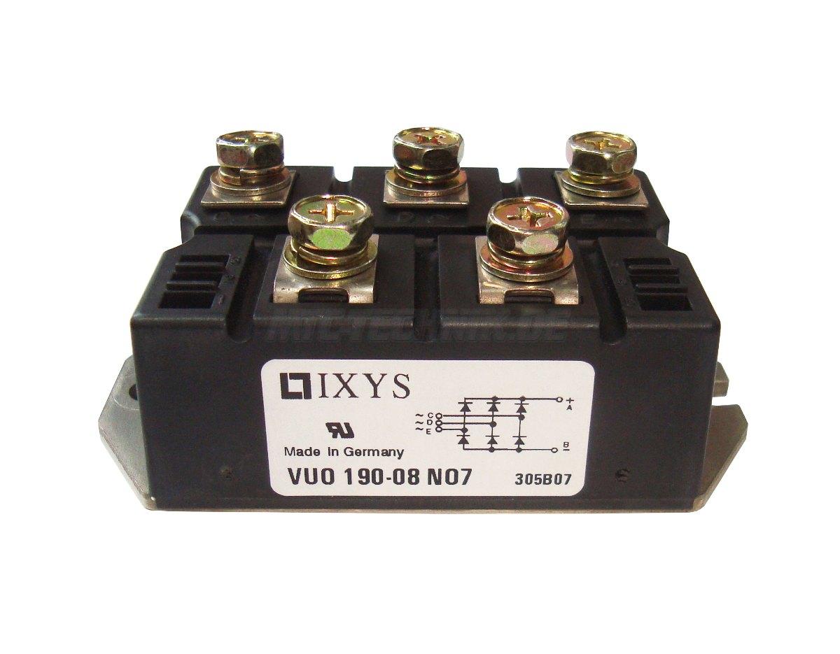 1 Ixys Dioden Module Vuo190-08no7 Bestellen