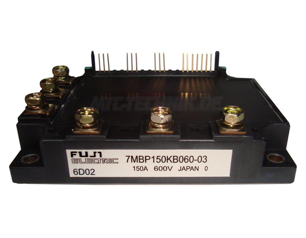 Fuji Electric Transistor Module 7MBP150KB060-03