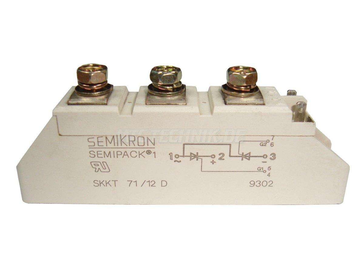 1 Semikron Shop Skkt71-12d Bestellen