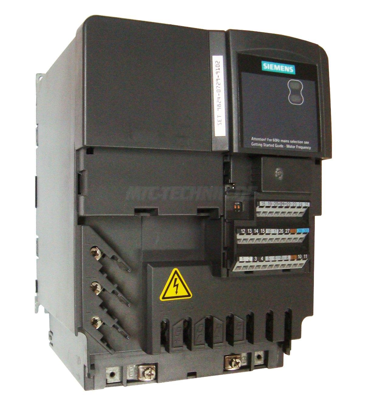 1 Siemens Frequenzumrichter 6se6440-2ad31-1ca1 Shop