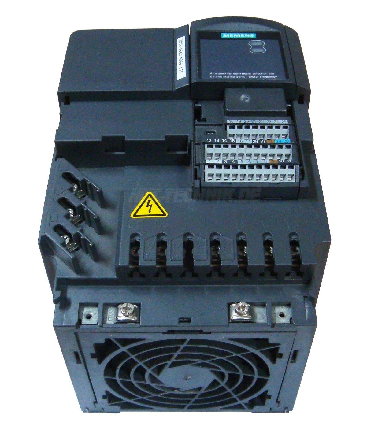2 Austausch Micromaster 440 6se6440-2ad31-1ca1 Siemens