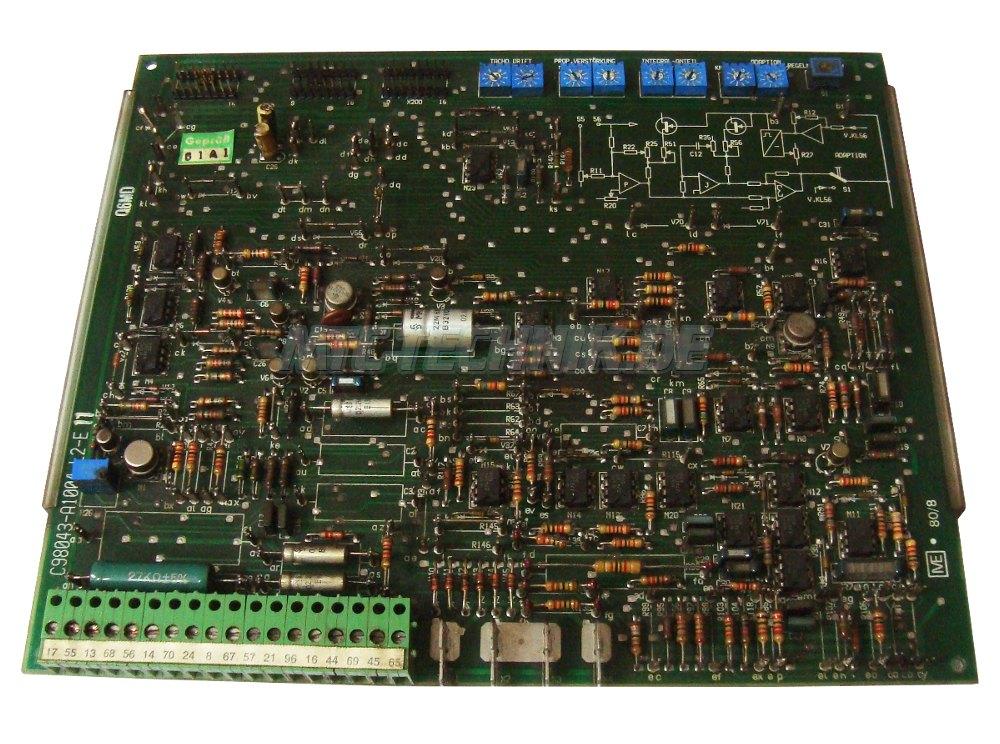1 Shop Siemens C98043-a1004-l2-e11 Simoreg