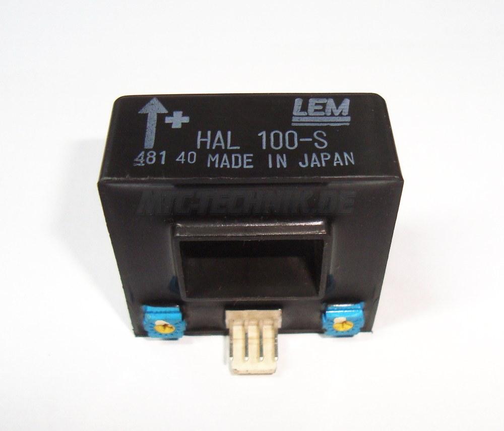 1 Lem Stromwandler Hal100-s