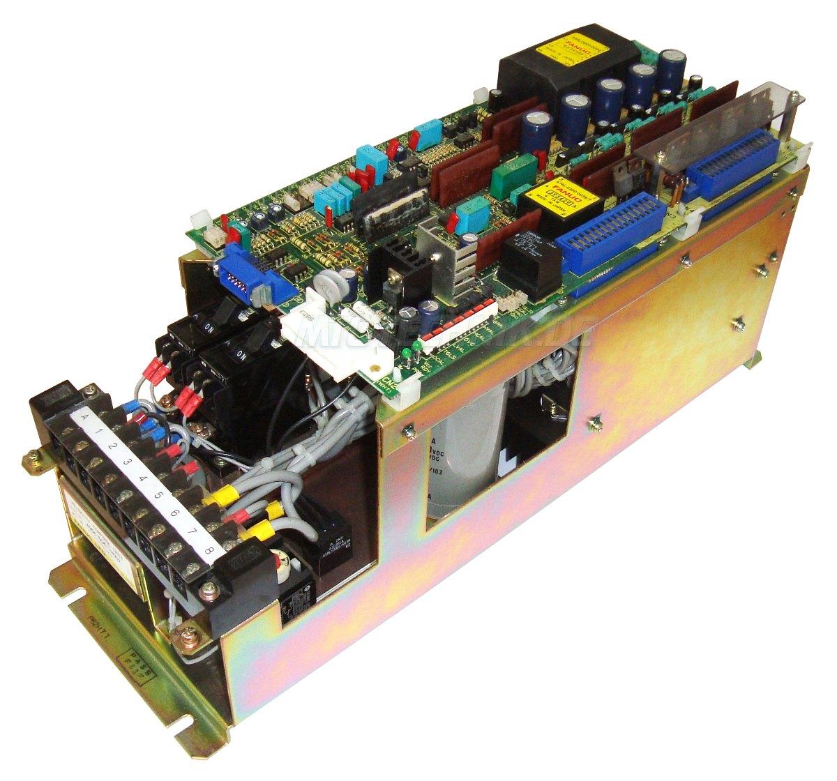 3 Dc Servo Unit A06b-6047-h002 Fanuc Shop