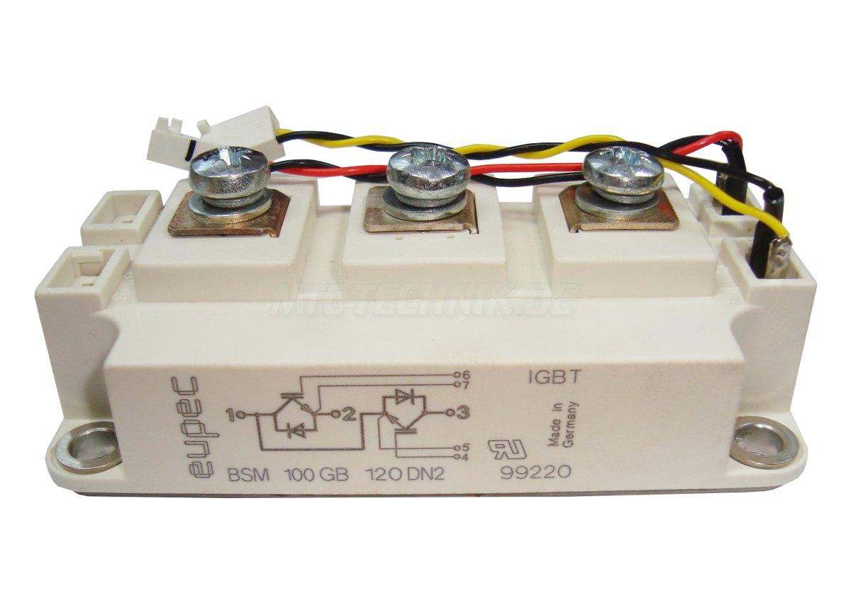 1 Eupec Igbt Module Bsm100gb120dn2 Shop
