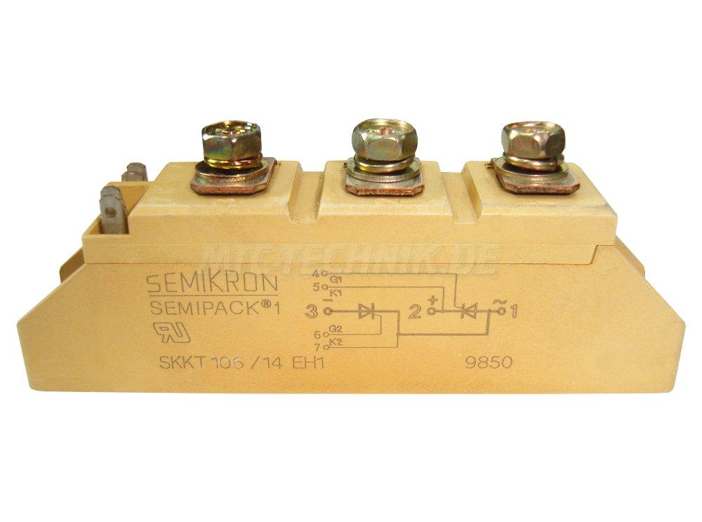 1 Semikron Skkt106-14eh1 Bestellen Thyristor