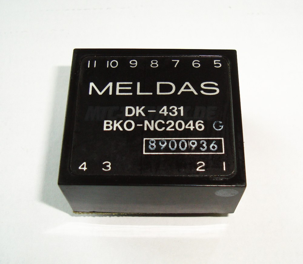 1 Mitsubishi Dk-431 Isolations Amplifier Bko-nc2046