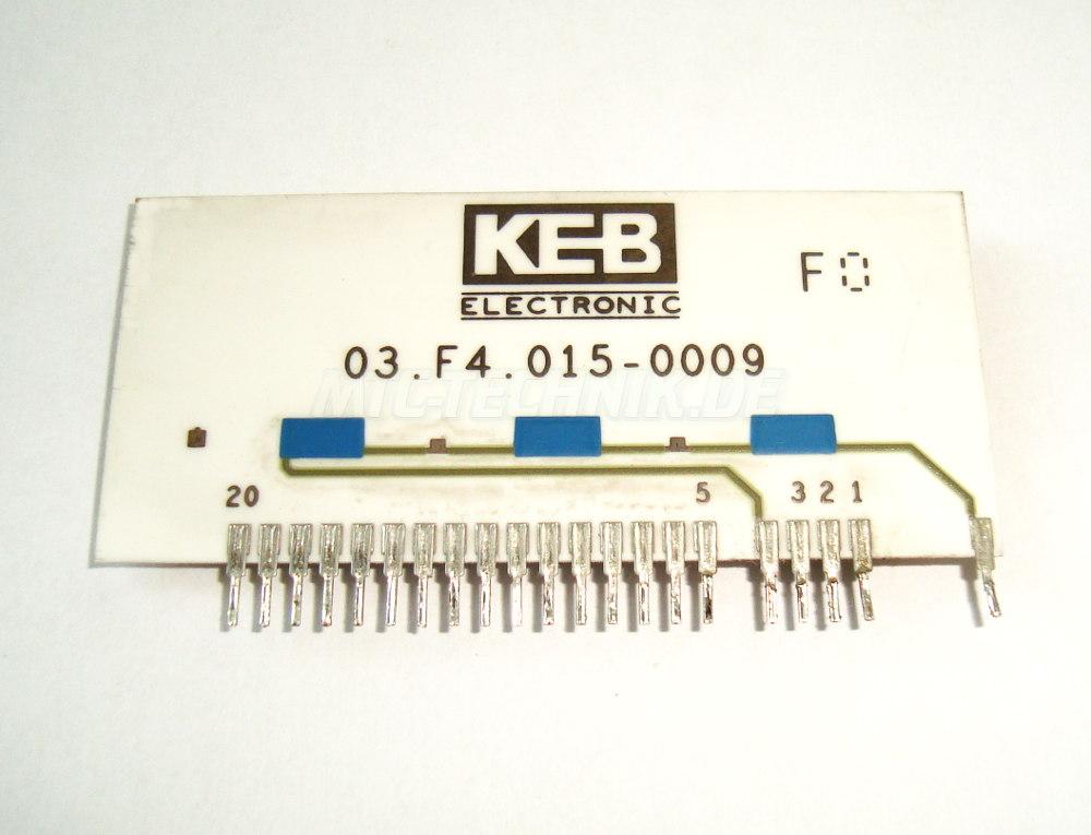 2 Typenschild 03.f4.015-0009 Keb