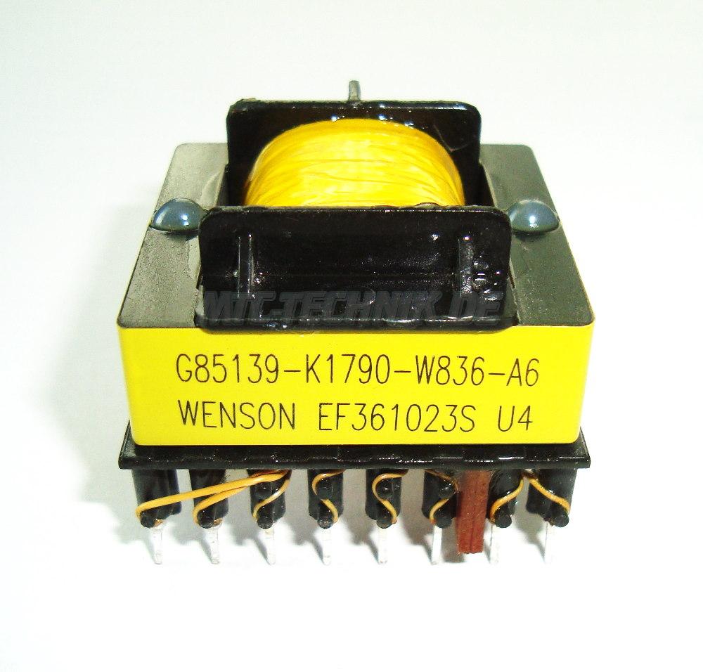 1 Siemens Transformator G85139-k1790-w836-a6 Shop