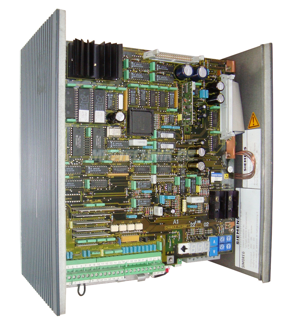 1 Siemens Shop 6ra2218-6ds22-0 Simoreg Gleichstromantrieb