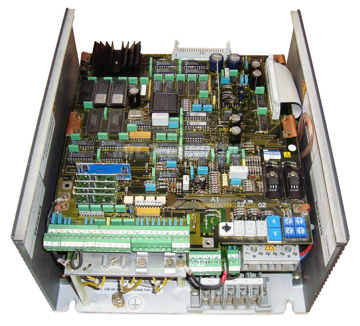 2 Simoreg-k Austausch 6ra2218-6ds22-0 Siemens