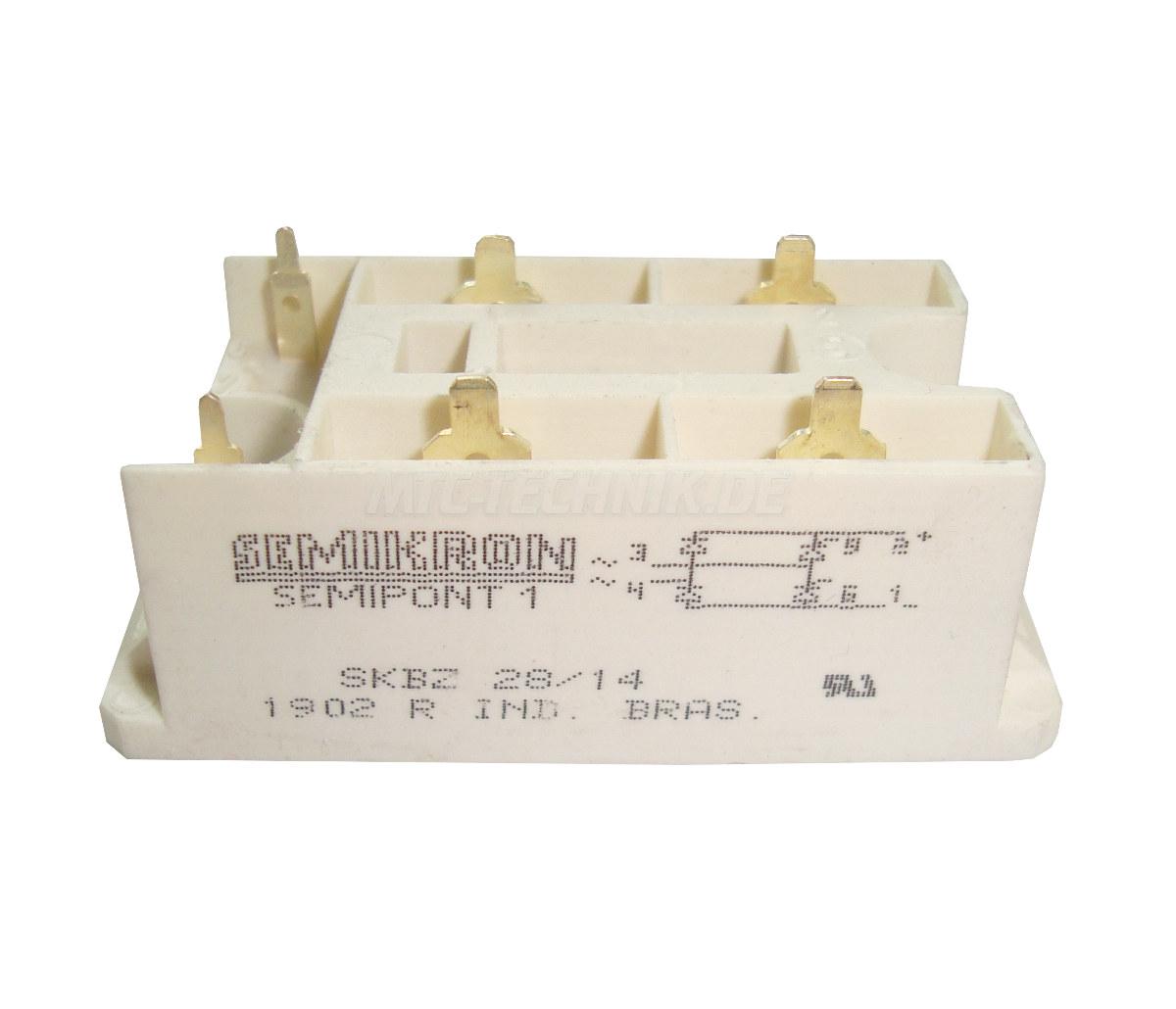 Semikron Thyristor Module SKBZ28/14