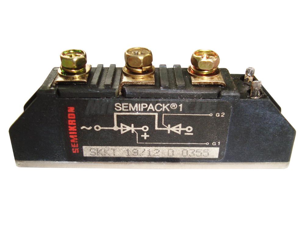 Semikron Thyristor Module SKKT19/12D