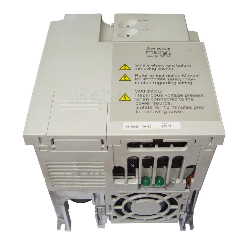 2 Frequenzumrichter Fr-e520s-1.5k-ec Mitsubishi E500