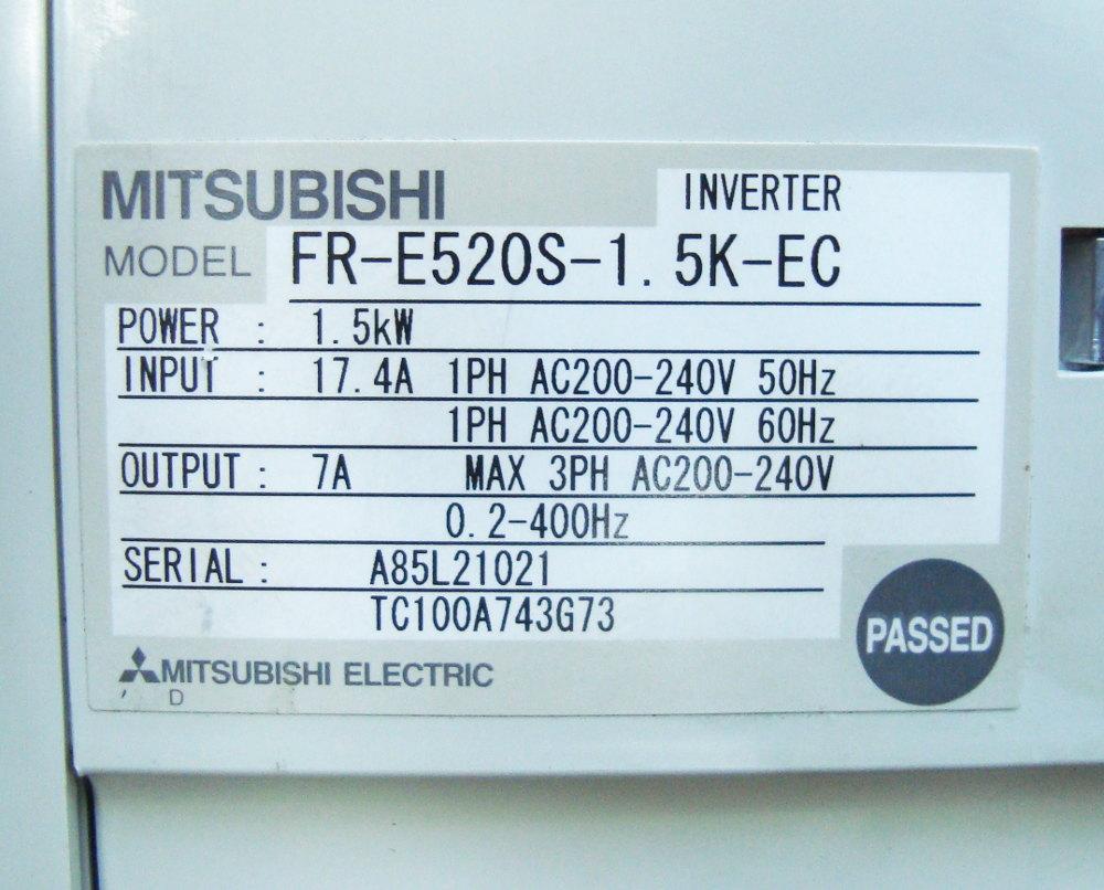 4 Typenschild Fr-e520s-1.5k-ec