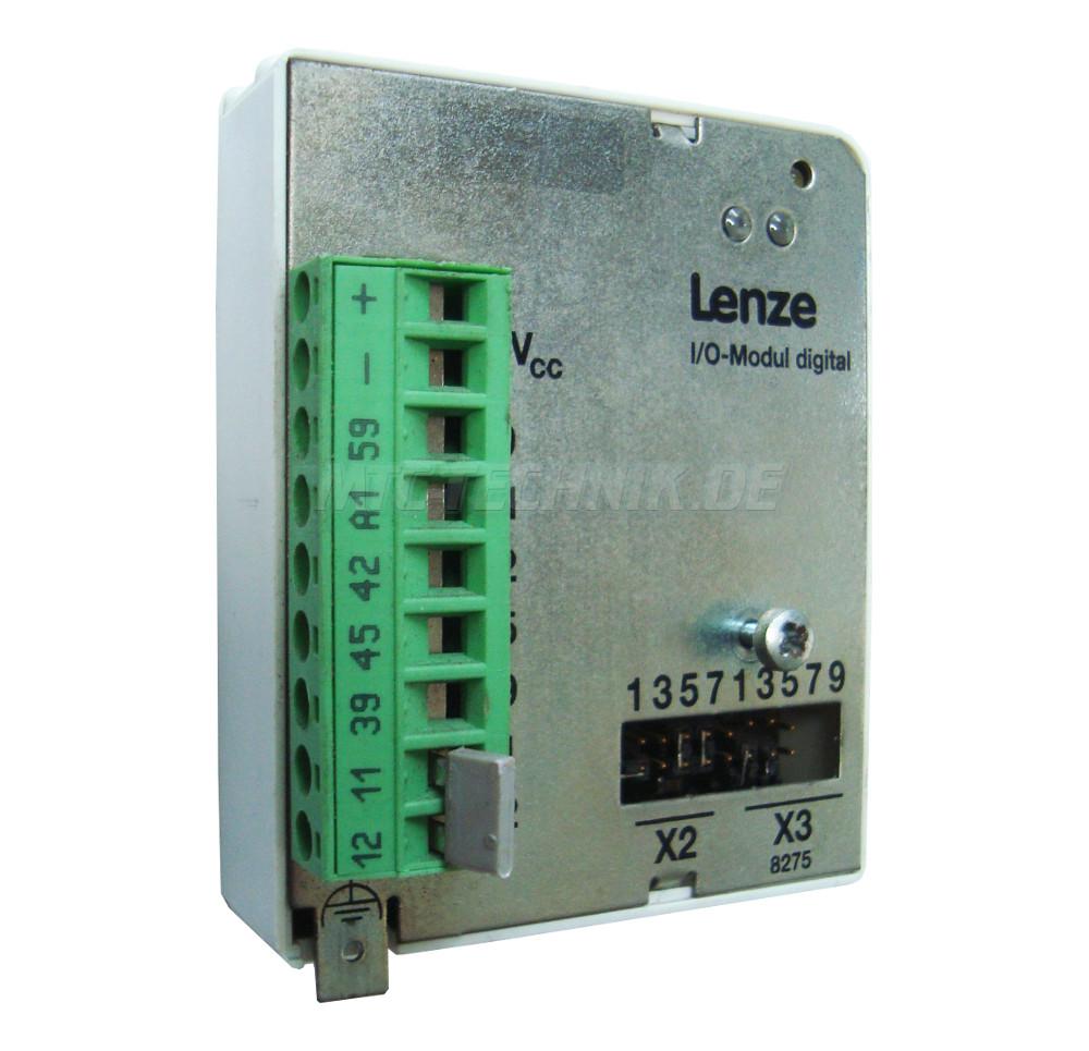 1 Lenze Emz8275ib Digital Input Output Modul