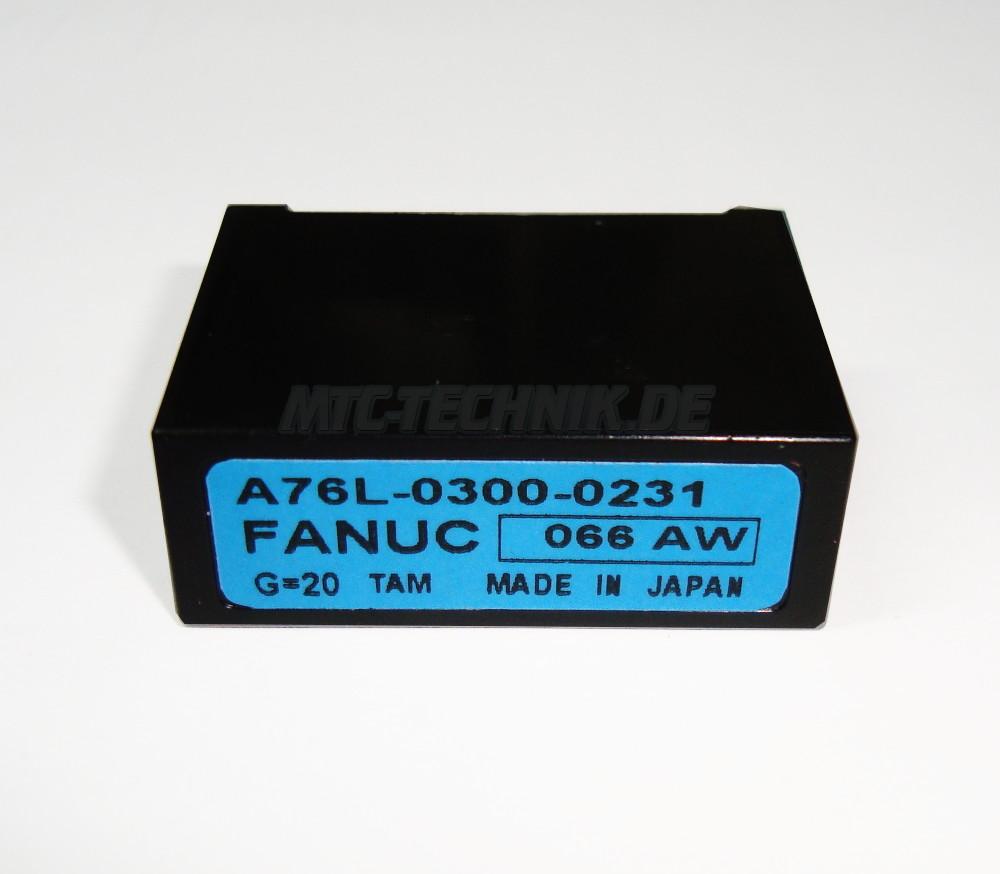 Fanuc Isolation Amplifier A76L-0300-0231