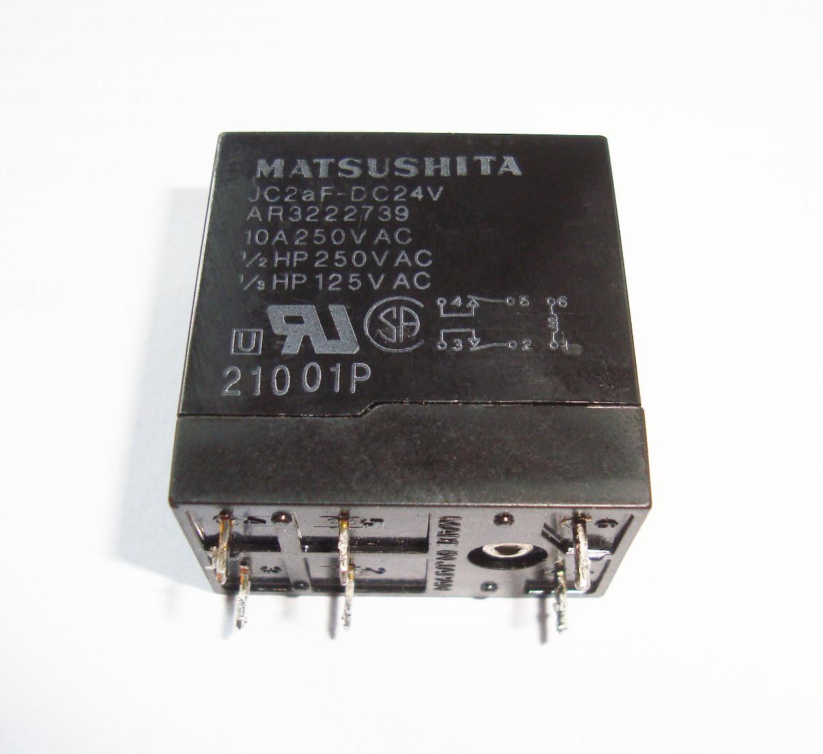 Matsushita Relais JC2AF-DC24V